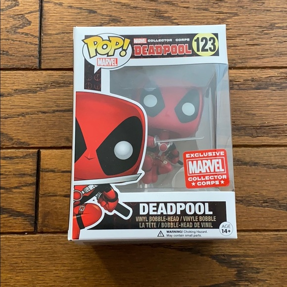 Funko POP! Marvel Deadpool 123